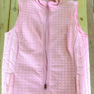 Kim Rogers quilted vest M